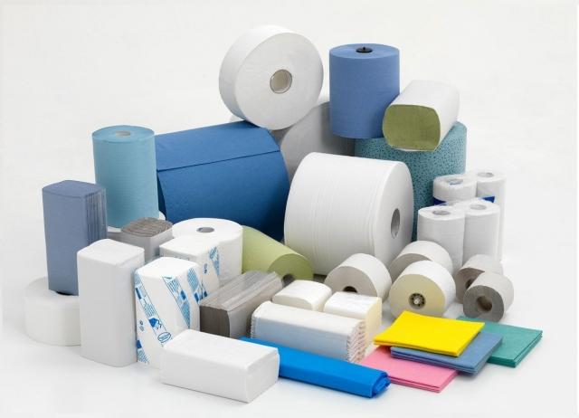 Бумажные полотенца и туалетная бумага