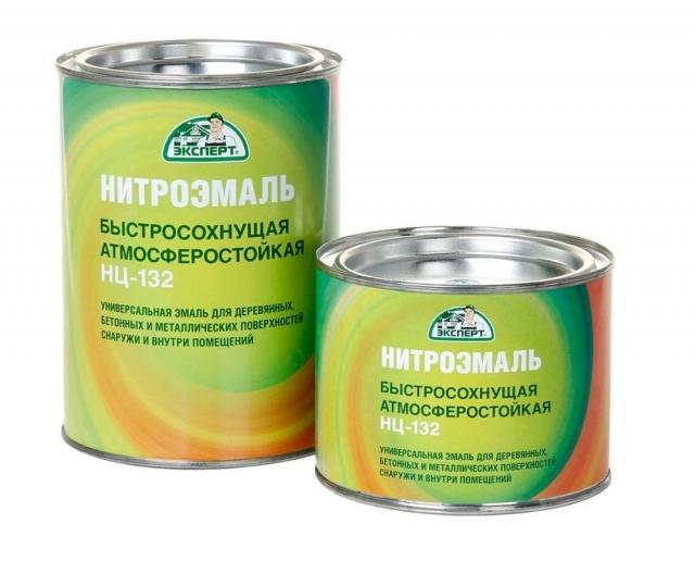 Нитроэмаль НЦ 132 (быстросохнущая краска)