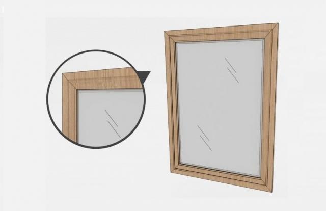 Калькулятор расчета зеркала в рамке МДФ
