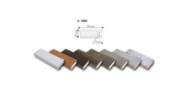 Профиль МДФ рамочный А-1800/10 мм