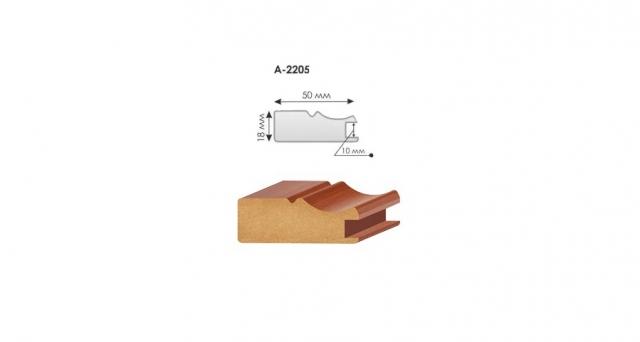 Профиль МДФ рамочный А-2205/10 мм