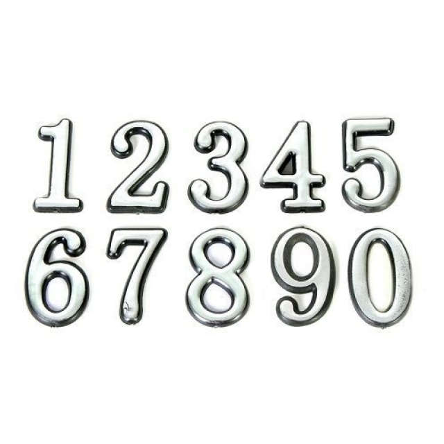 Цифры хром