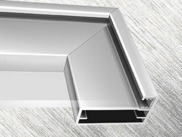 Алюминиевый профиль для фасадов и зеркал