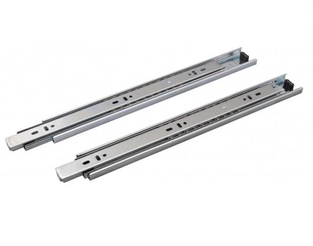 Шариковые направляющие с гидравлическим доводчиком Н=45 мм