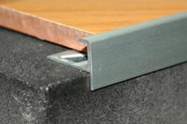 Профили для плитки и керамогранита из алюминия и ПВХ