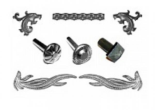 Накладки, заклёпки