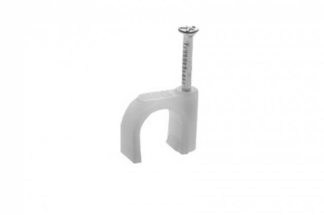 Скоба-держатель для круглого кабеля