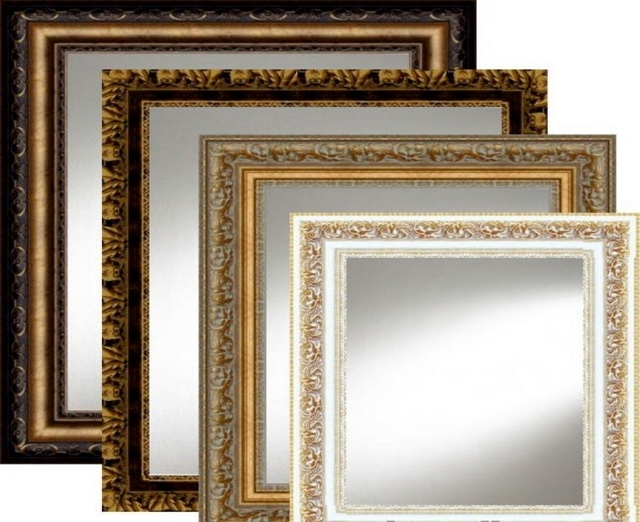 Изготовление зеркал в рамке по вашим размерам