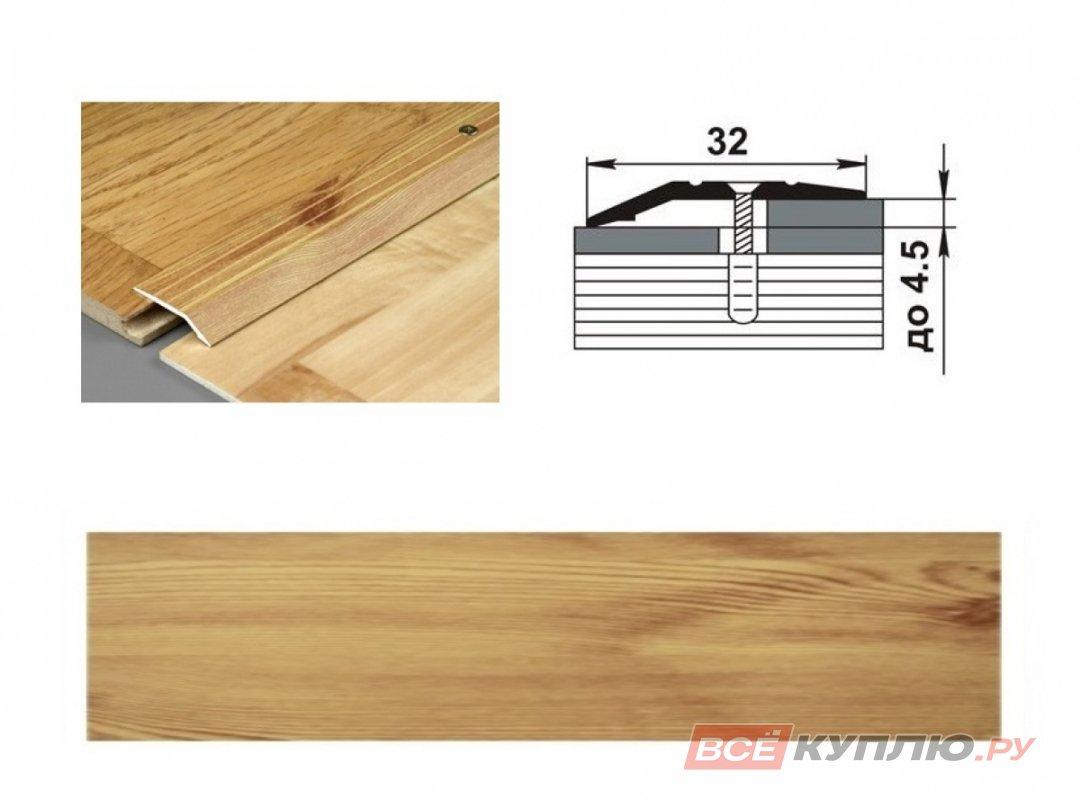 Профиль угловой ПР-03 900 мм сосна
