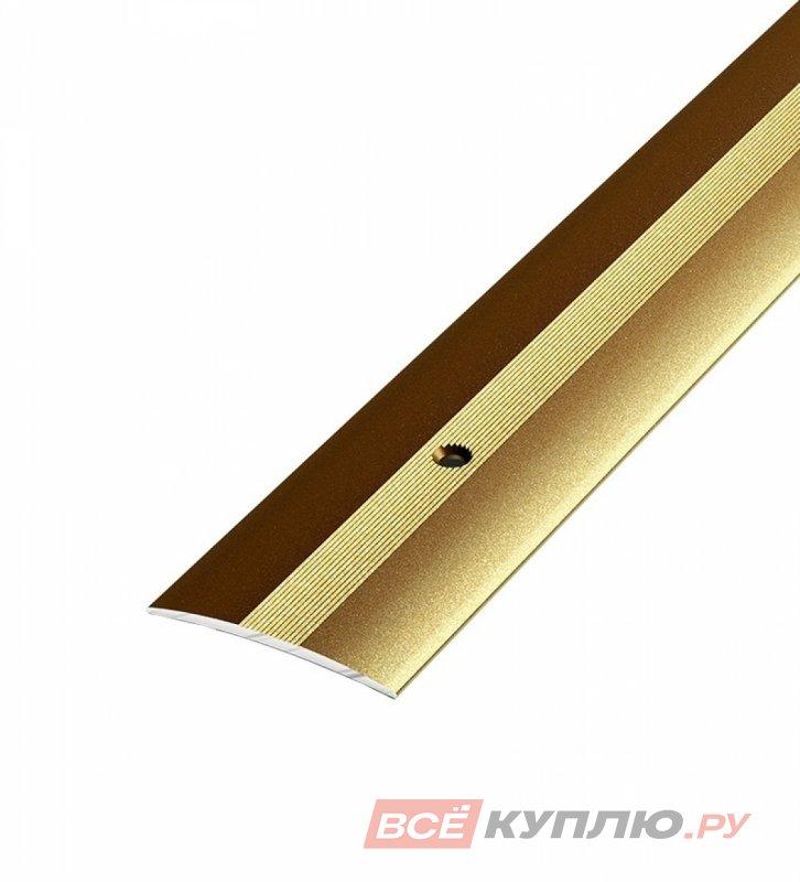 Профиль стыкоперекрывающий ПС-03 1800 мм бронза