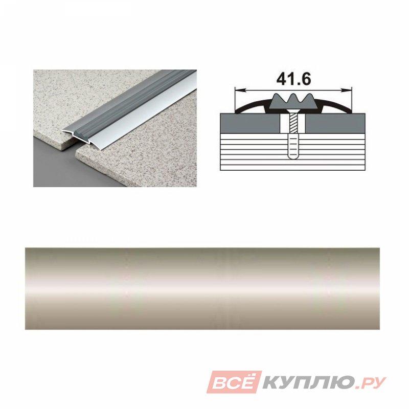 Профиль стыкоперекрывающий ПС-08 1350 мм бронза