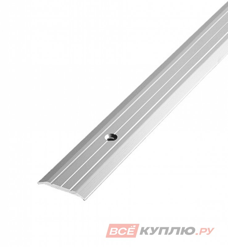 Профиль стыкоперекрывающий ПС-01 900 мм серебро полиэфир