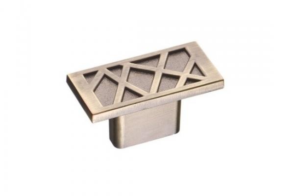 Ручка-кнопка мебельная бронза (RK-018 ВА)