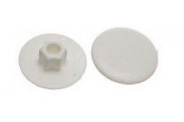 Заглушка на конфирмат №1 Белая (50 шт)