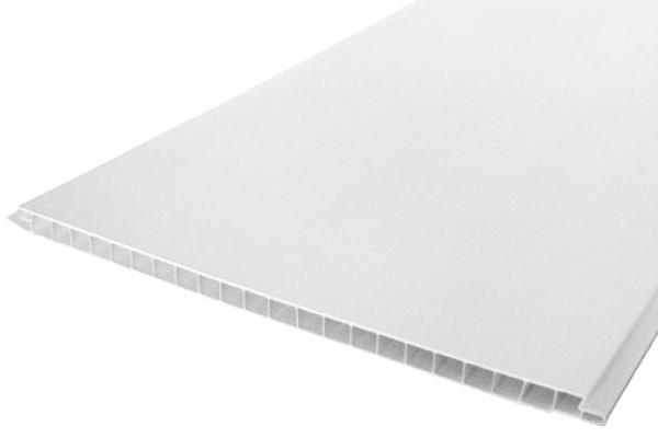 Панель 3000*250*8 мм белая матовая
