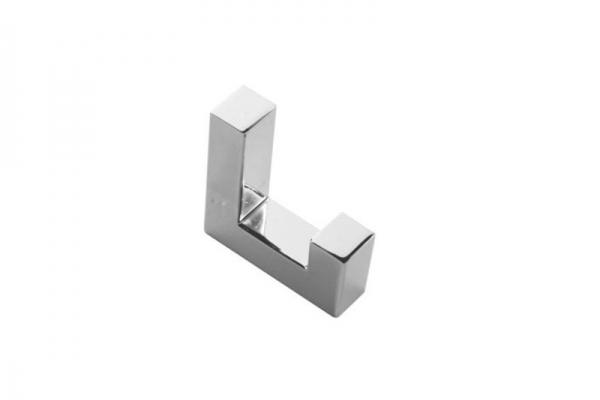 Крючок мебельный однорожковый хром (WZ-K2201-01)
