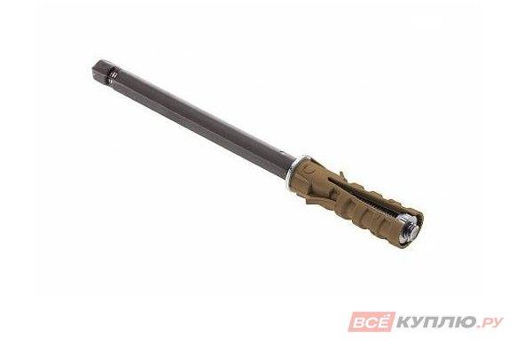 Полкодержатель скрытый для деревянных полок 90*9 мм (12839)