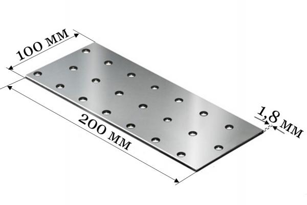 Пластина соединительная PS 100*200*1,8 мм