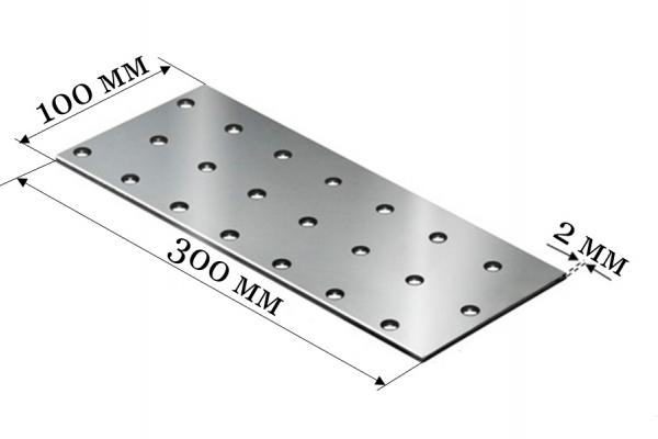 Пластина соединительная PS 100*300*2 мм