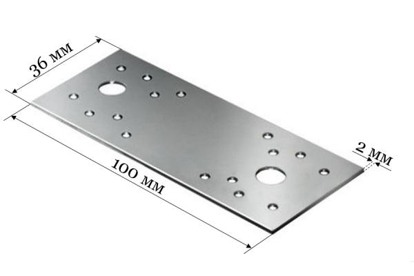 Пластина крепежная KP 100*36*2 мм