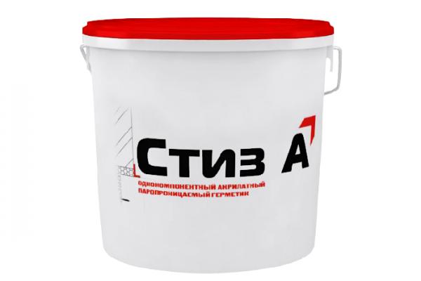 Герметик СТИЗ-А однокомпонентный акрилатный 7 кг (ведро)