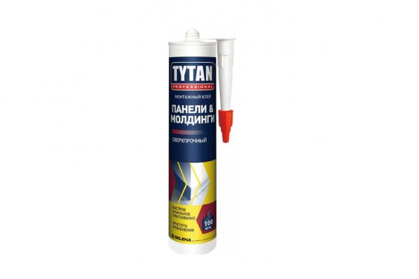 Жидкие гвозди TYTAN для панелей, плинтусов, профилей 310 мл (Польша)