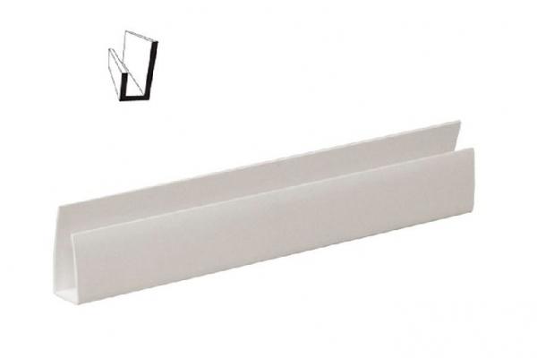 Стартовый профиль универсальный белый БФК 10 мм
