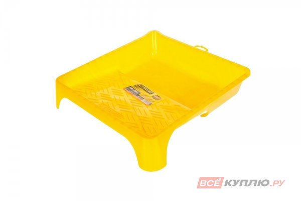 """Ванночка малярная STAYER """"MASTER пластмассовая 330х350 мм (0605-33-35)"""