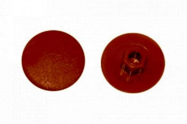 Заглушка на конфирмат №4.1 Кирпичная (50 шт)