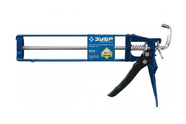 Пистолет для герметиков скелетный ЗУБР ЭКСПЕРТ 310 мл (06631)