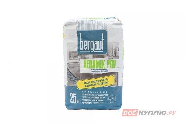 """Клей для плитки """"Бергауф"""" KERAMIK PRO 25 кг"""