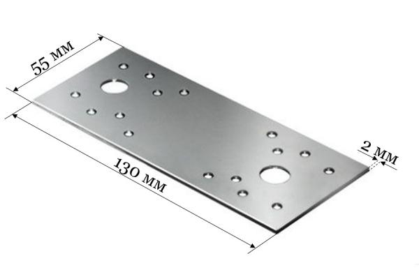Пластина крепежная KP 130*55*2 мм