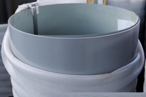 Лист окрашенный плоский 0,45 мм 1250*2000 мм сигнально-серый (RAL7004)