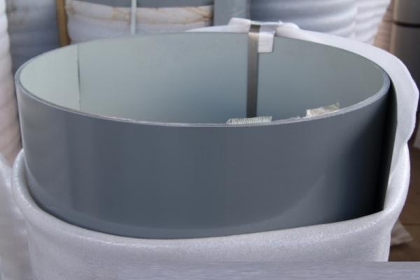 Лист окрашенный плоский 0,45 мм 1250*2500 мм серый (RAL7005)