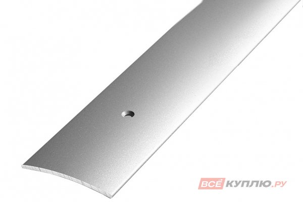 Профиль стыкоперекрывающий ПС-04 1350 мм серебро люкс
