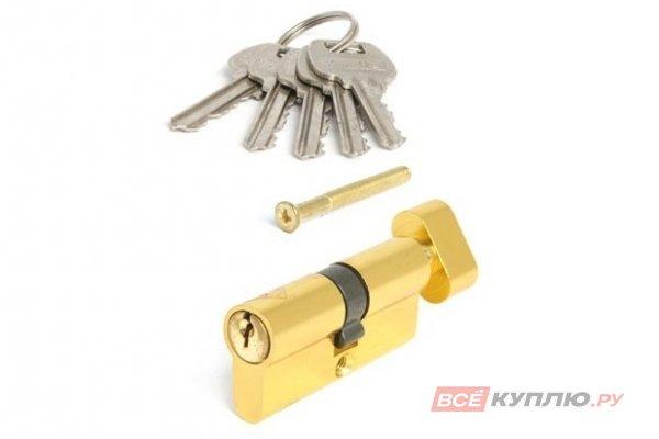 Механизм цилиндровый AVERS LL-60-C-G золото (9981)