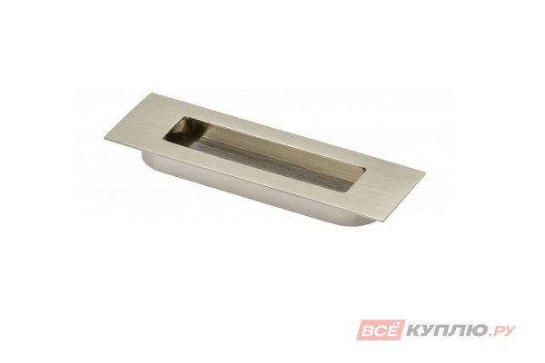 Ручка врезная мебельная UZ-E6-096-06 инокс
