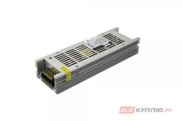 Блок питания для светодиодов 220/24V 250W, IP20, компактный (узкий) (14600)