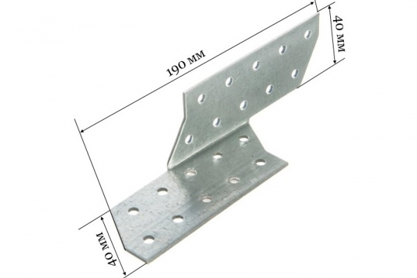 Держатель балки DB-П 190*40*40 мм (Правый)