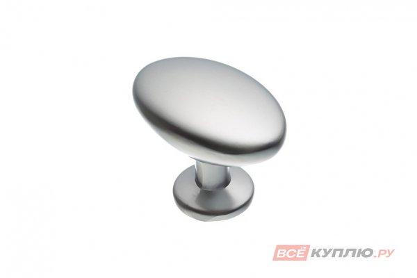 Ручка кнопка AMIX GP0906 (овал) матовый хром