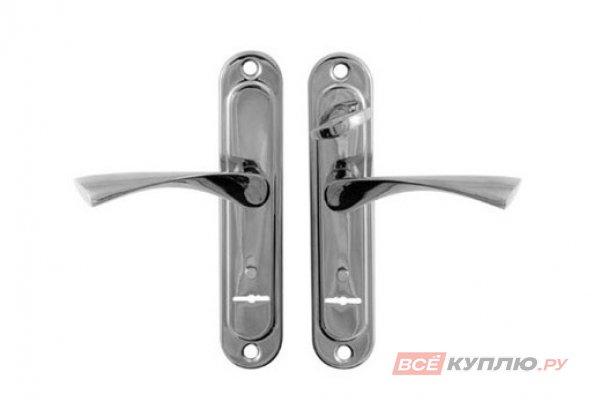 Ручки дверные Апекс HР-77.0323-S-C-CR L хром левые (2012)