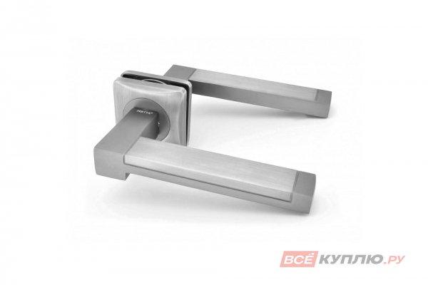 Ручка дверная Feretta 607 SN/CP никель/хром