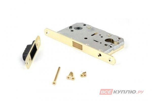 Замок врезной магнитный Апекс 5300-MС-GM матовое золото