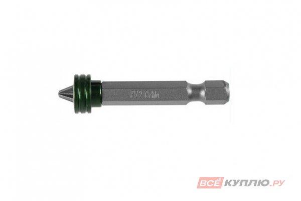 Бита KRAFTOOL ЕХPERT с магнитным держателем-ограничителем, тип хвостовика C 1/4, PZ2, 25 мм, 1 шт (26129-2-25-1)