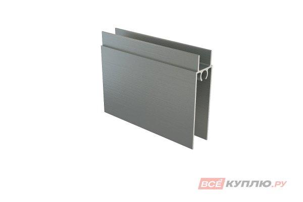 Нижняя рамка серебро 6 м STERN