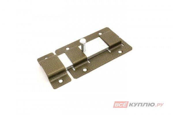 Задвижка дверная Кунгур ЗД-02 бронза (2863)