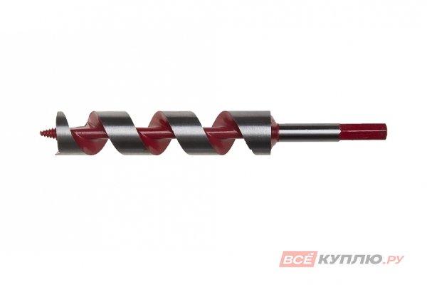 Сверло по дереву спираль Левиса ЗУБР МАСТЕР (30х235 мм; шестигранный хвостовик; сталь 45Mn) (2947-235-30)