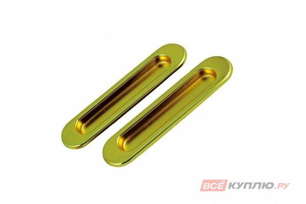 Ручки для раздвижных дверей TIXX SDH 501 SG матовая латунь