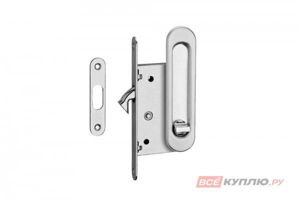 Ручки с замком для раздвижных дверей TIXX SDH-BK 501 SN никель матовый (6993)