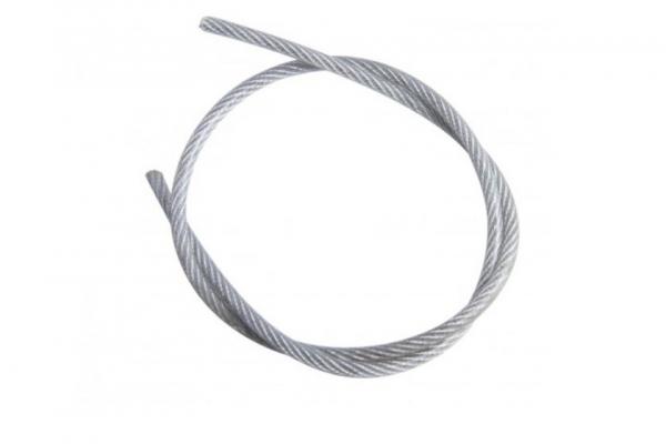 Трос стальной DIN 3055 для растяжки цинк 5 мм
